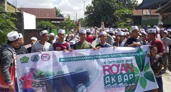 Roan Akbar Hsn 2019 Seribuan Santri Salafiyah Parappe